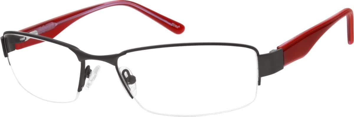 MenHalf RimMixed MaterialsEyeglasses #678021