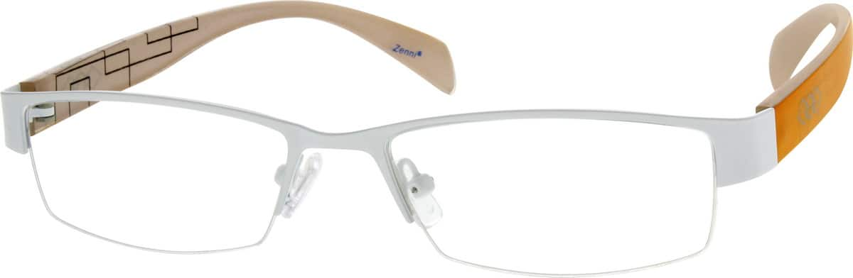 stainless-steel-and-acetate-half-rim-eyeglass-frame-for-men-678330