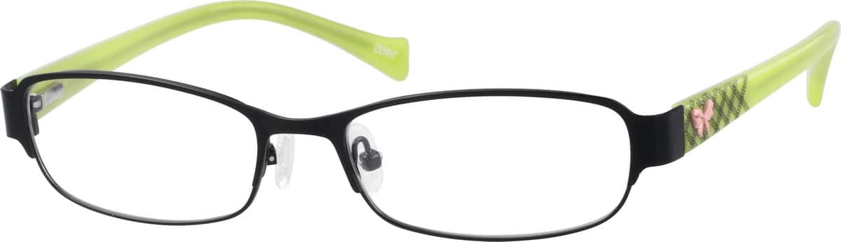 children's-stainless-steel-full-rim-eyeglass-frame-with-acetate-temples-and-spring-hinges-678621