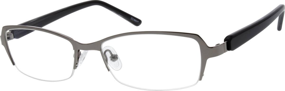 MenHalf RimMixed MaterialsEyeglasses #679312