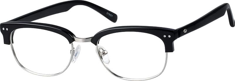 Browline Glasses Zenni Optical : Black Browline Eyeglasses #6794 Zenni Optical Eyeglasses