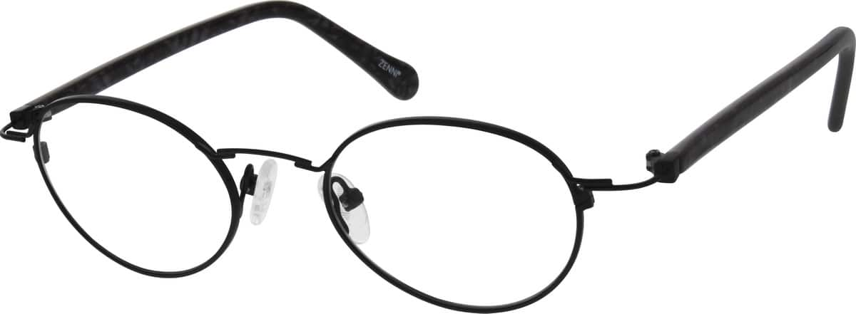 Men Full Rim Mixed Materials Eyeglasses #679521