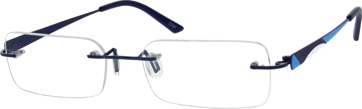 WomenRimlessStainless SteelEyeglasses #680016