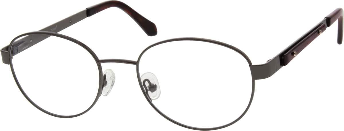 MenFull RimStainless SteelEyeglasses #680214