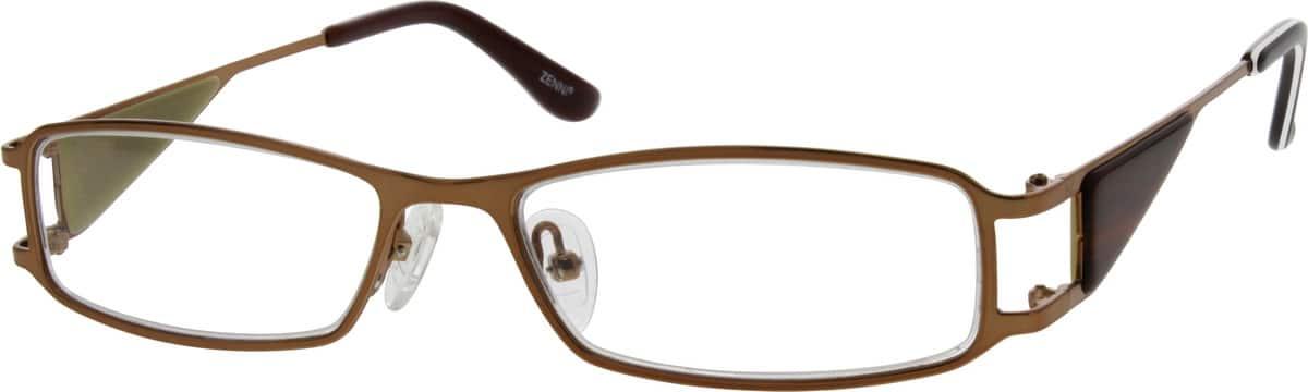 UnisexFull RimStainless SteelEyeglasses #680515