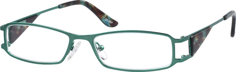 Unisex Full Rim Stainless Steel Eyeglasses #680524
