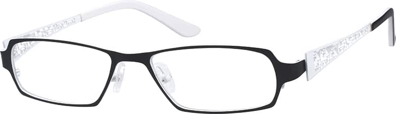 Women Full Rim Stainless Steel Eyeglasses #682121