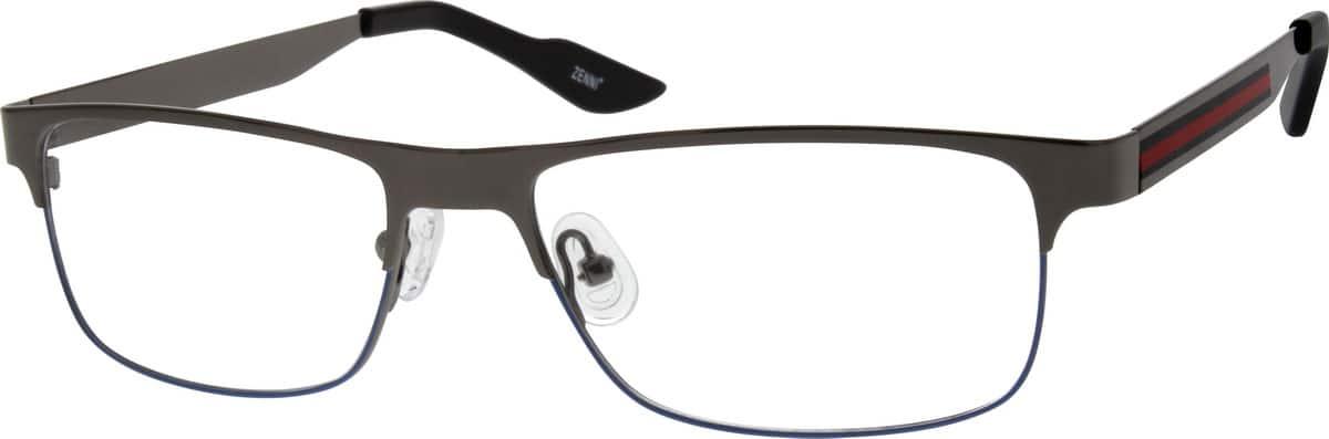 UnisexFull RimStainless SteelEyeglasses #682312