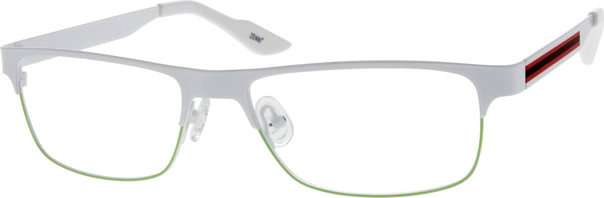 UnisexFull RimStainless SteelEyeglasses #682330