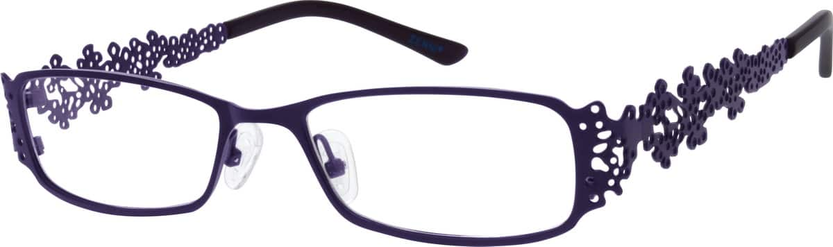 Women Full Rim Stainless Steel Eyeglasses #682716