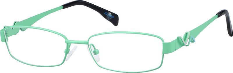 WomenFull RimStainless SteelEyeglasses #682830