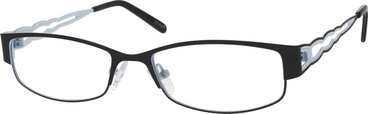 WomenFull RimStainless SteelEyeglasses #683621