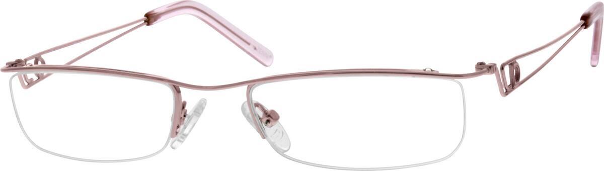 WomenHalf RimMetalEyeglasses #683815
