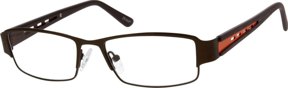 MenFull RimStainless SteelEyeglasses #684721