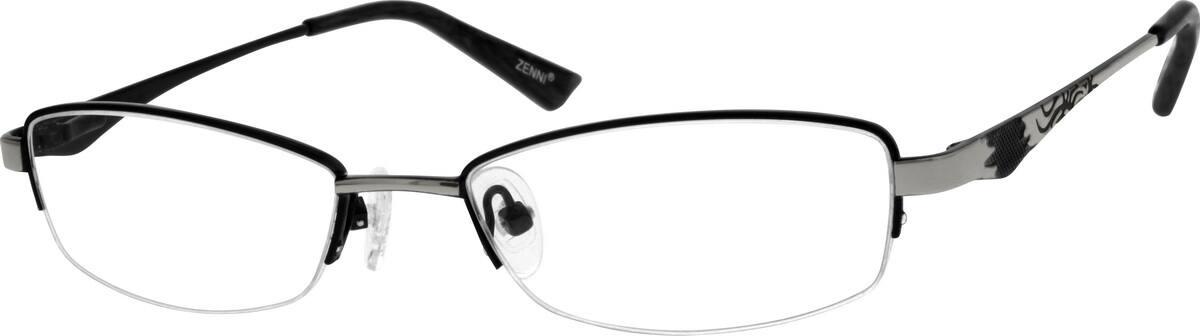 womens-hypoallergenic-stainless-steel-half-rim-eyeglass-frame-684821