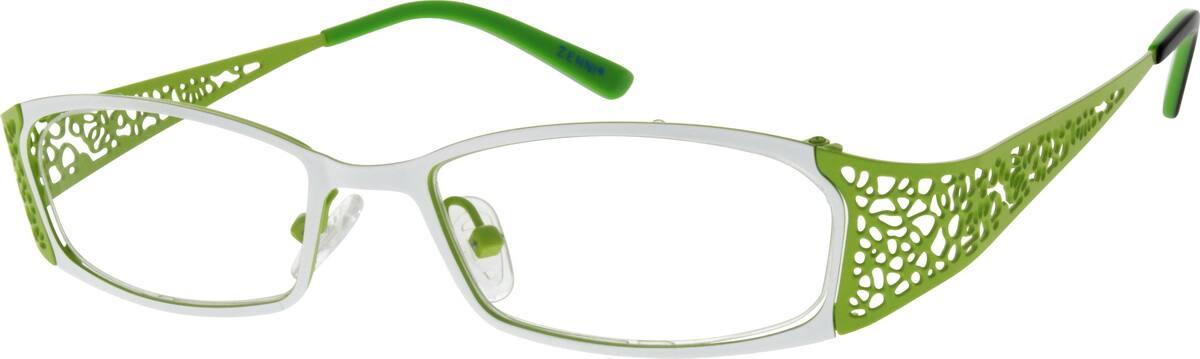 WomenFull RimStainless SteelEyeglasses #685116