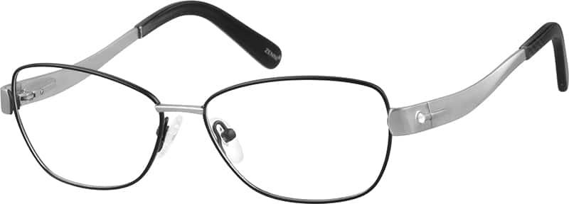 WomenFull RimStainless SteelEyeglasses #685821