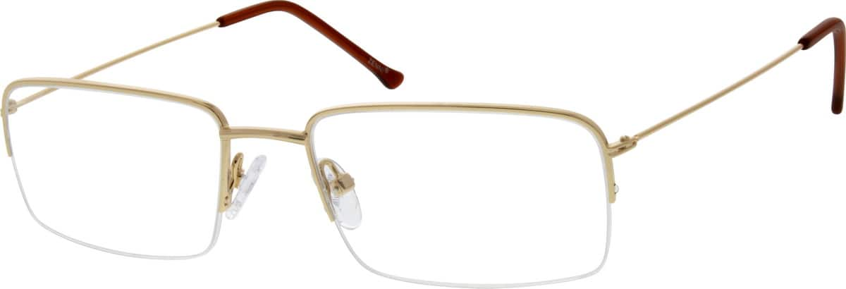 mens-stainless-steel-half-rim-rectangle-eyeglass-frame-685914