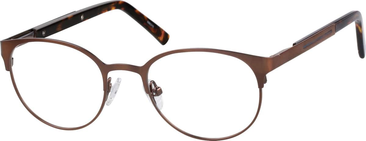 GirlFull RimStainless SteelEyeglasses #686315