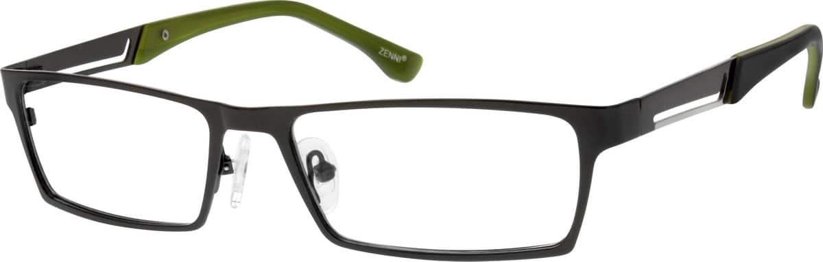 Men Full Rim Stainless Steel Eyeglasses #686412