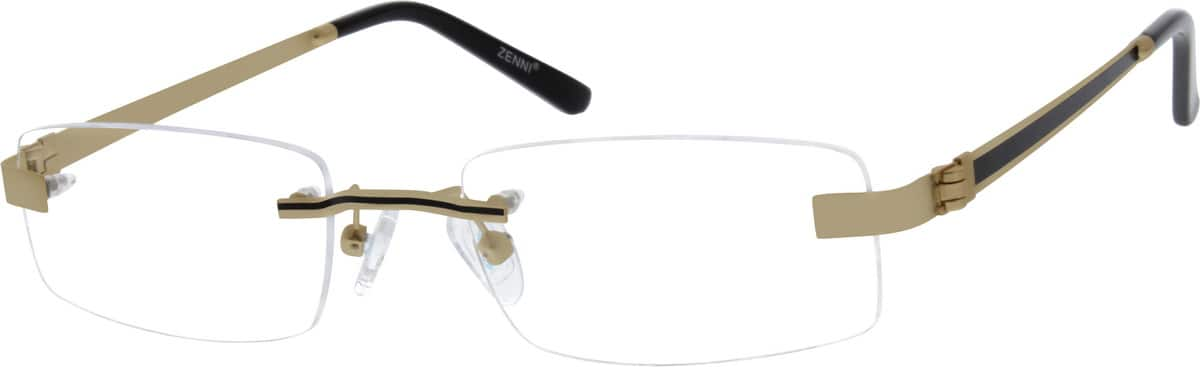 Men Rimless Stainless Steel Eyeglasses #686521