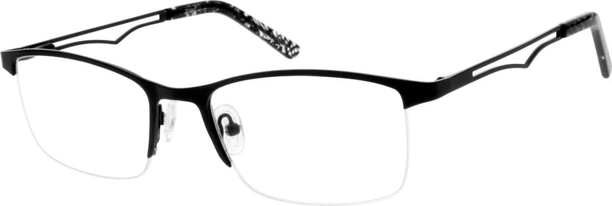 MenHalf RimStainless SteelEyeglasses #686921