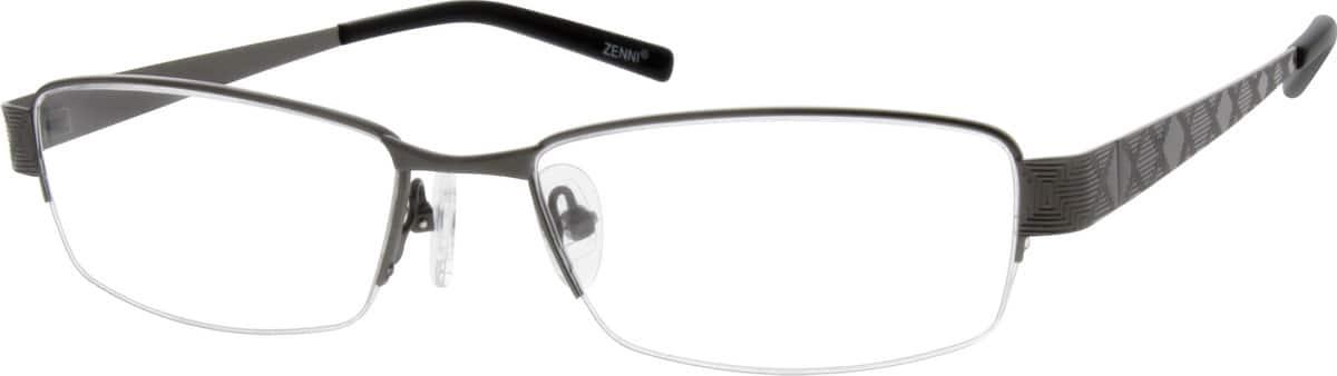 mens-stainless-steel-half-rim-eyeglass-frame-687012