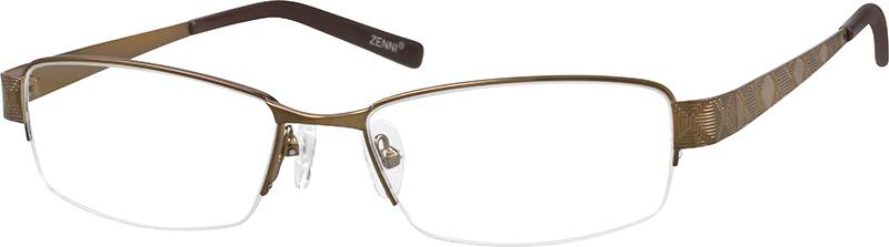 mens-stainless-steel-half-rim-eyeglass-frame-687015