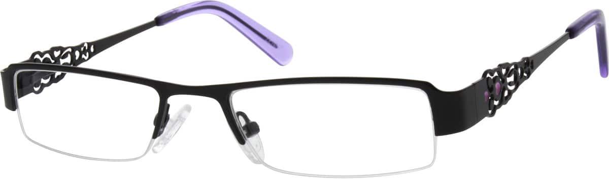 WomenHalf RimStainless SteelEyeglasses #687221