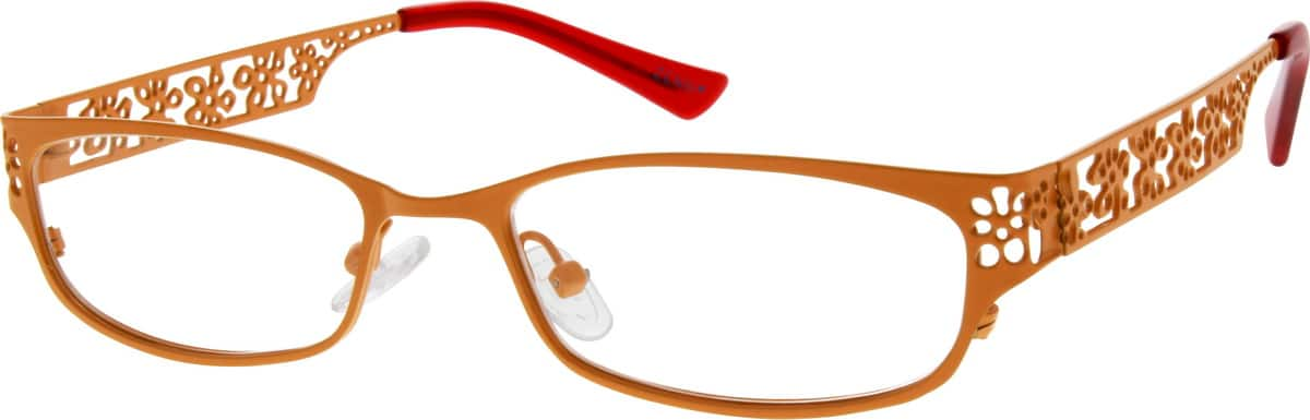 womens-stainless-steel-full-rim-oval-eyeglass-frame-687522