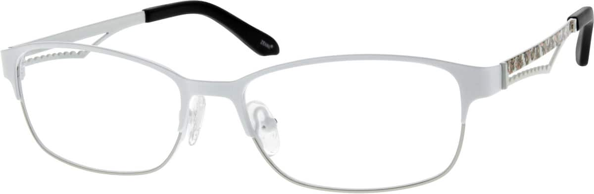 Women Full Rim Stainless Steel Eyeglasses #688121