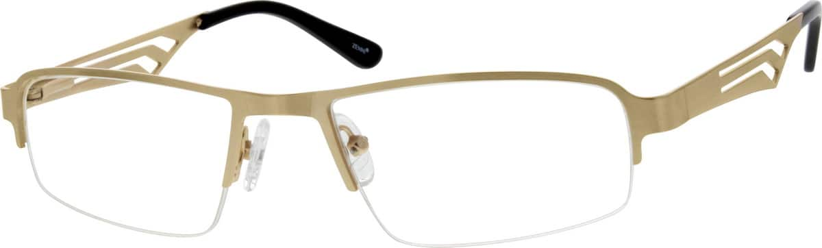 mens-half-rim-stainless steel-rectangle-eyeglass-frames-688214