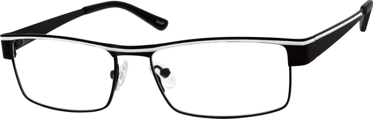 Men Full Rim Stainless Steel Eyeglasses #688315