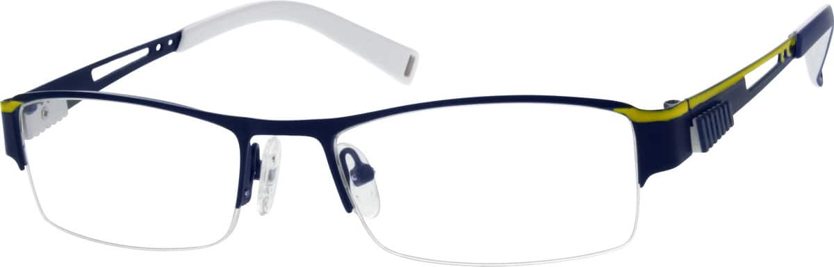 mens-half-rim-stainless-steel-rectangle-eyeglass-frames-688816
