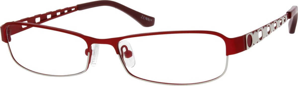 Women Full Rim Stainless Steel Eyeglasses #689221