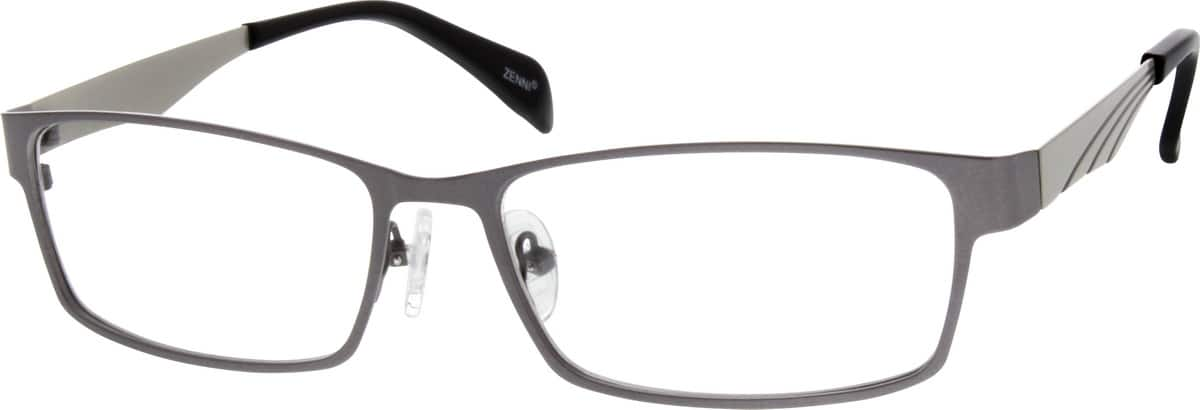Men Full Rim Stainless Steel Eyeglasses #689512