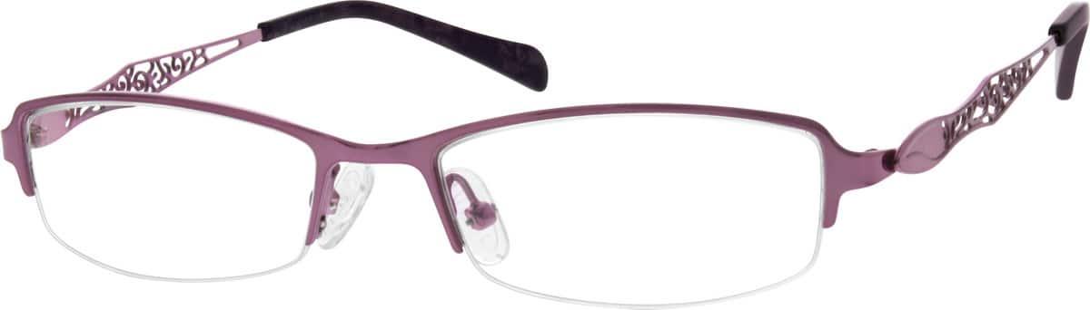 WomenHalf RimStainless SteelEyeglasses #690717
