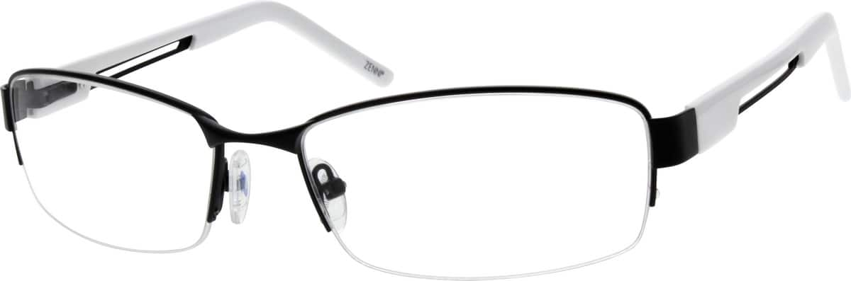 MenHalf RimStainless SteelEyeglasses #691111