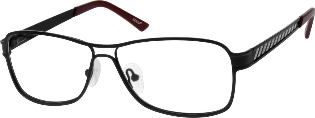 Men Full Rim Stainless Steel Eyeglasses #691415