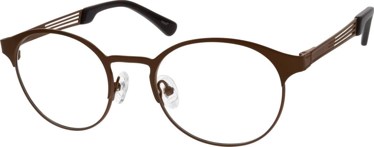 WomenFull RimStainless SteelEyeglasses #693115
