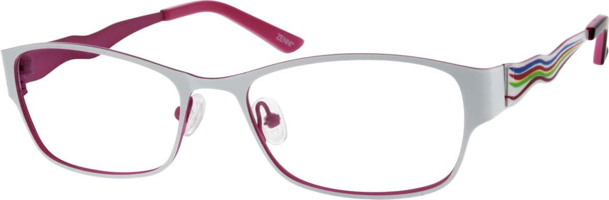 WomenFull RimStainless SteelEyeglasses #693430