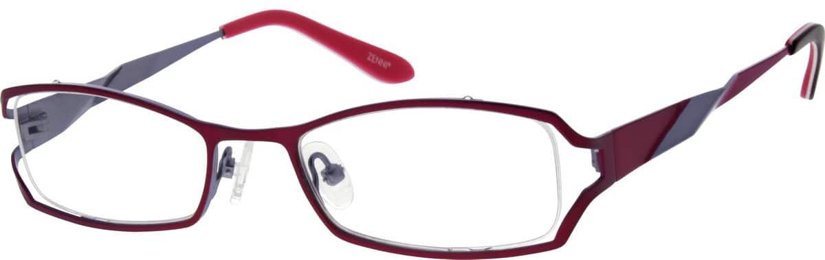 WomenFull RimStainless SteelEyeglasses #693618