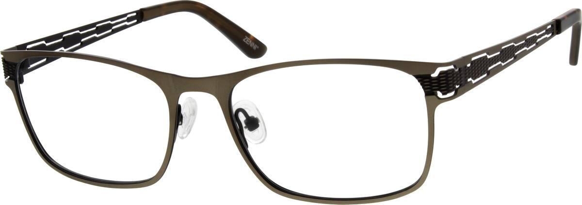 MenFull RimStainless SteelEyeglasses #694115
