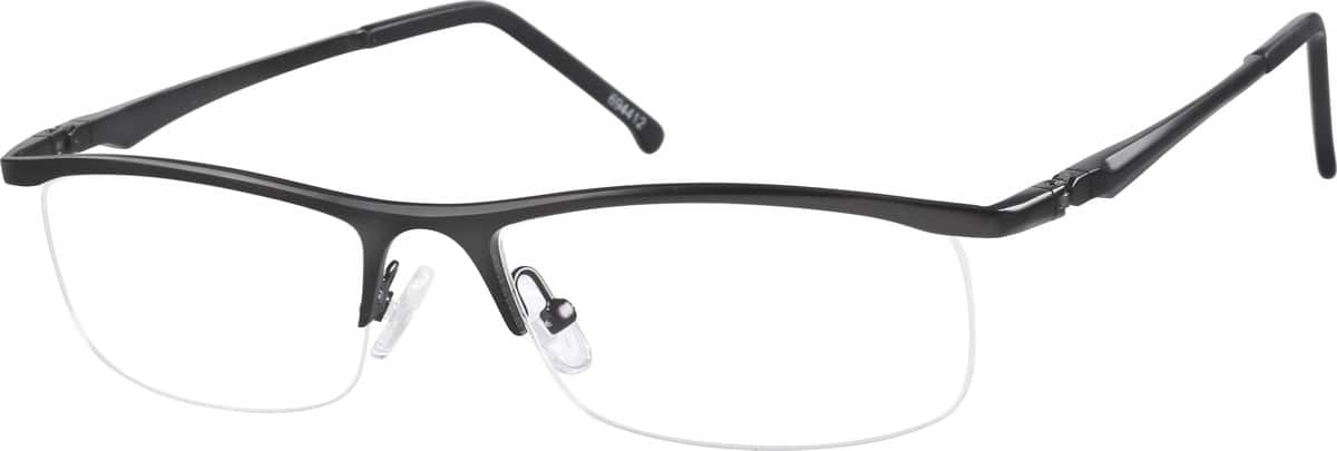 694412-stainless-steel-half-rim-frame-with-spring-hinges