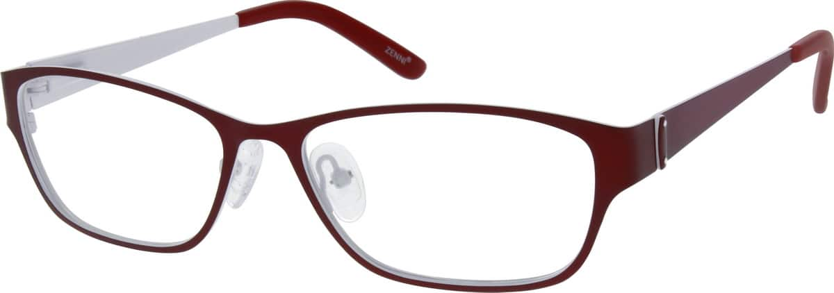 Women Full Rim Stainless Steel Eyeglasses #695121