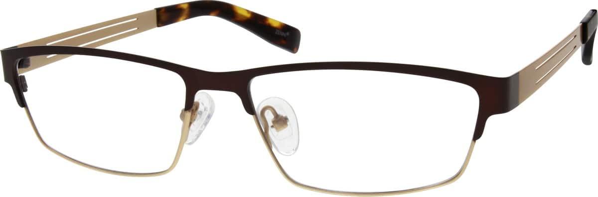 MenFull RimStainless SteelEyeglasses #695215