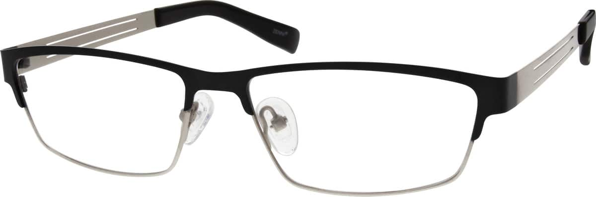 Men Full Rim Stainless Steel Eyeglasses #695215