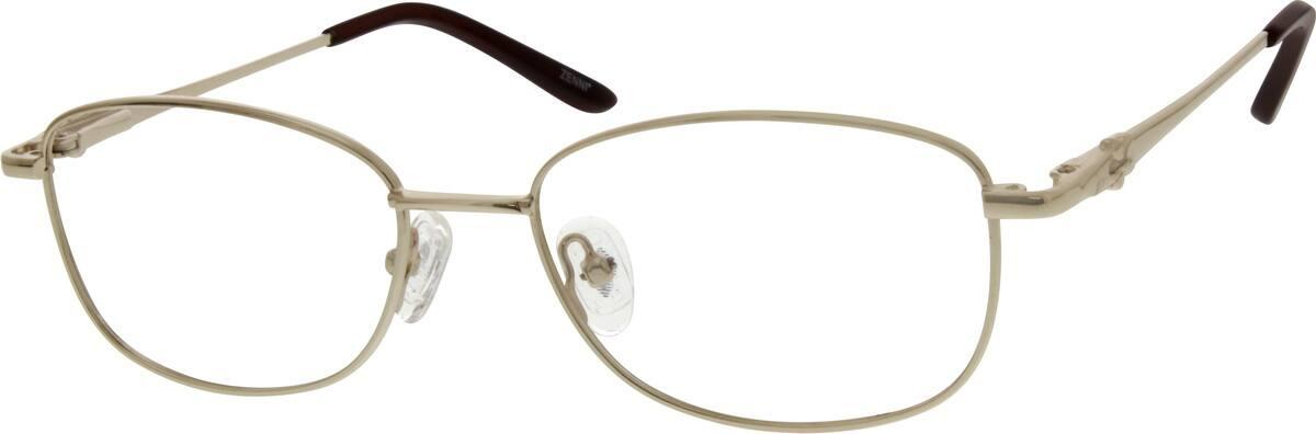 WomenFull RimStainless SteelEyeglasses #695714