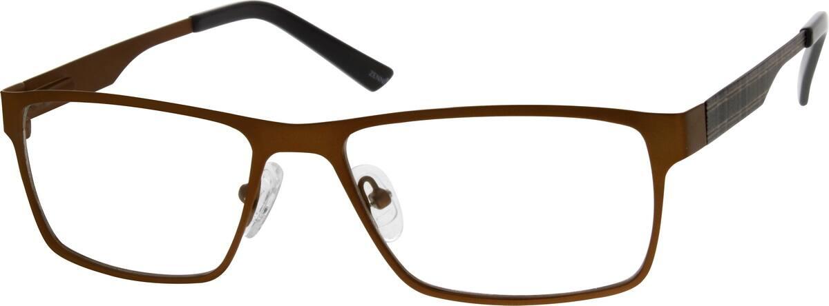 UnisexFull RimStainless SteelEyeglasses #695915