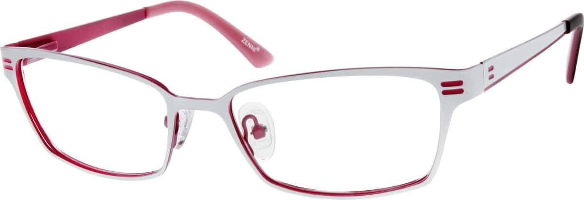 WomenFull RimStainless SteelEyeglasses #696430